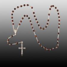 Tiger Eye Cremation Rosary
