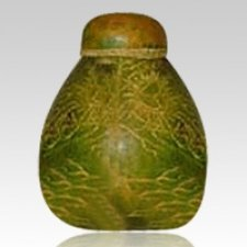 Timber Gourd Cremation Urn