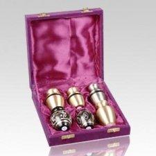 Trojan Keepsake Cremation Urn Set
