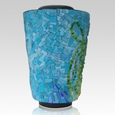 Amazon Mosaic Cremation Urn