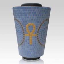 Orient Mosaic Cremation Urn