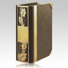 Ivy Book Bronze Companion Cremation Urn
