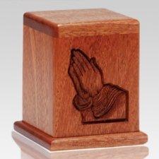 Praying Hands Keepsake Cremation Urn