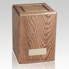 Oakley Wood Cremation Urn