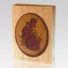 Rose Bouquet Keepsake Cremation Urn