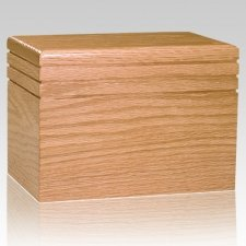Serenity Wood Children Infant Cremation Urn