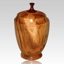Heavenly Wood Cremation Urn