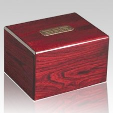 Traditional Rosewood Cremation Urn