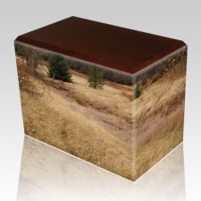 Hunting Grounds Walnut Child Cremation Urn II