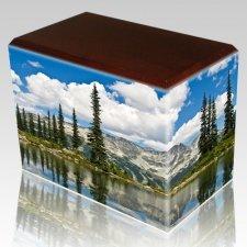 Pine Lake Walnut Child Cremation Urn III