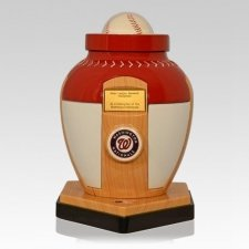 Washington Nationals Baseball Cremation Urn