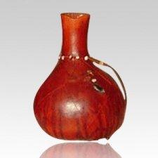 Woodland Gourd Cremation Urn