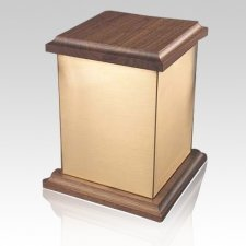 Yukon Plain Bronze Cremation Urn