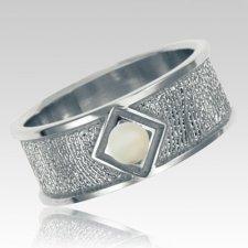 Opal Sterling Silver Ring Print Keepsake