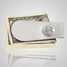 Pet Money Clip Print 14k White Gold Keepsakes