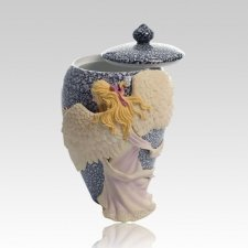 Embrace Angel Color Child Cremation Urn