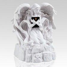 White Angel Religious Cremation Urn