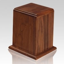 Anthony Wood Cremation Urn II