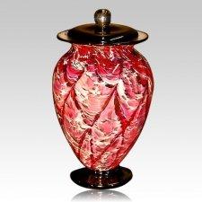 Fireflies Glass Cremation Urn