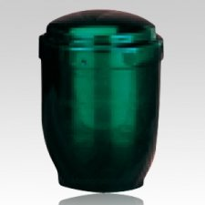 Artisan Green Pet Cremation Urn