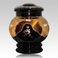 Aora Glass Cremation Urn