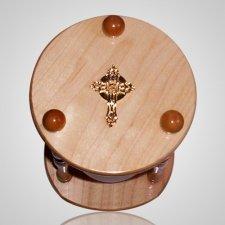 Hourglass Pillar Cherry Pet Urn