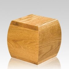 Pinecrest Small Wood Cremation Urn