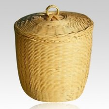 Flabour Bamboo Cremation Urn