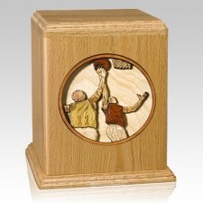 Basketball Cremation Urn II