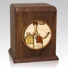 Basketball Cremation Urn