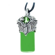 Bat Green Ash Necklace Jewelry