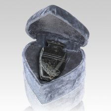 Mini Black Keepsake Urn