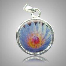 Blue Flower Keepsake Jewelry