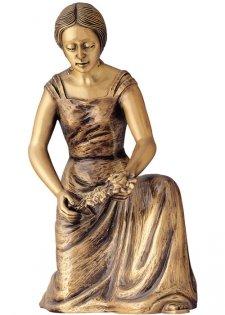 Roses Bronze Statues