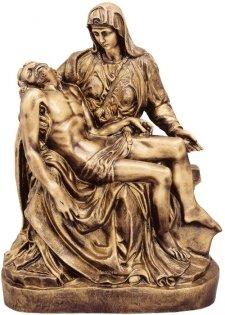 Pieta Bronze Statues