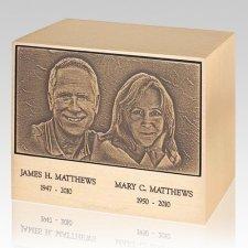 Lasting Memories Bronze Companion Urn