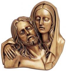 Joseph & Mary Wall Bronze Statues