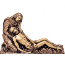 Holding Jesus Wall Bronze Statues