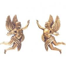 Angels Wall Bronze Statues