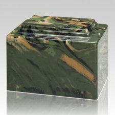 Camouflage Military Cremation Urn