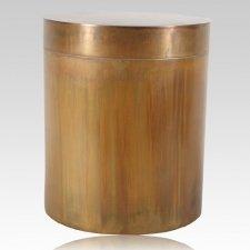 Round We Go Copper Cremation Urn