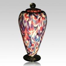 Carnival Art Cremation Urn