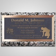 Carpenter Bronze Plaque