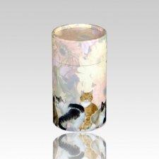 Cat Scattering Biodegradable Urn