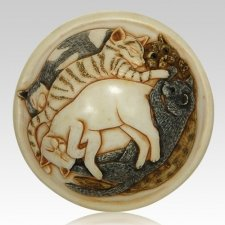 Cats Galore Cremation Urn