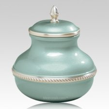 Green Pastel Pet Cremation Urn