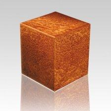 Cheetah Wood Cremation Urn