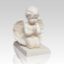 Praying Cherub Angel Infant Cremation Urn