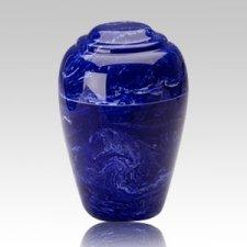 Grecian Cobalt Infant Cremation Urn