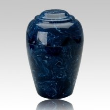 Grecian Navy Infant Cremation Urn